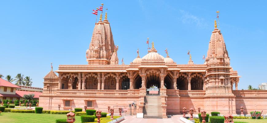 Aakshardham Temple in Gandhinagar