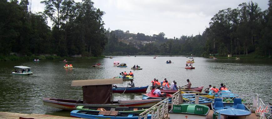 Ooty Lake in Tamil Nadu