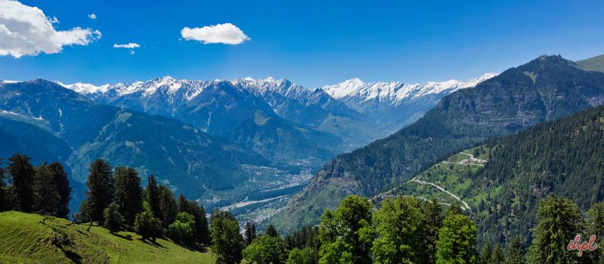Manali beautiful hill station in Himachal Pradesh