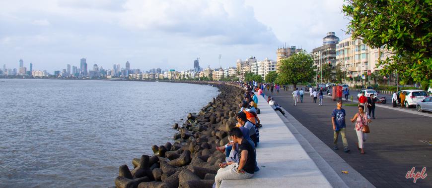Marine Drive of Mumbai