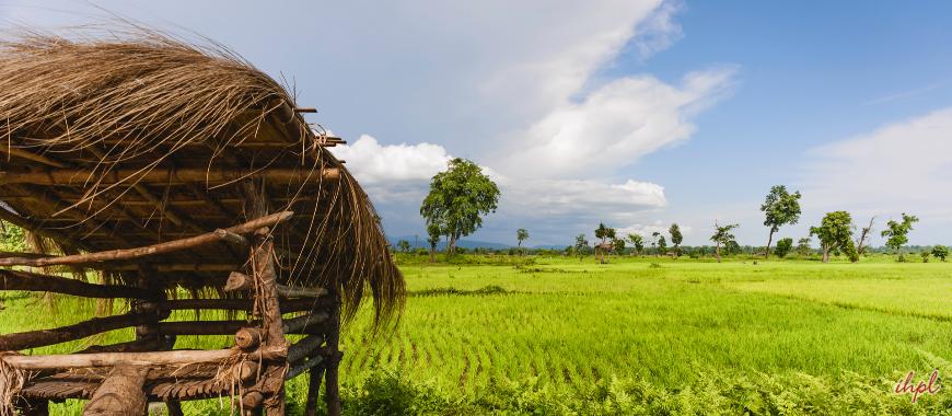 Bhalukpong Town in Arunachal Pradesh