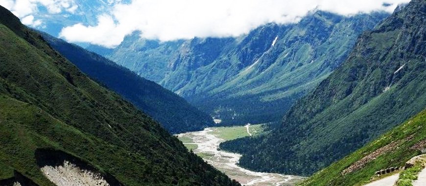 Lachung city in Sikkim