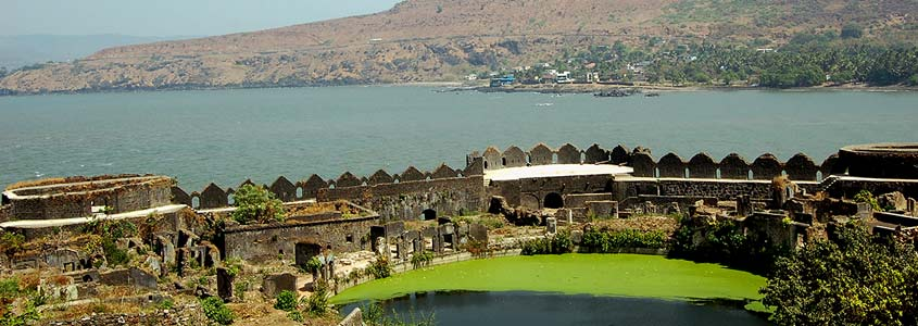 Murud-Janjira Fortress in India