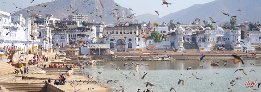 pushkar city in Rajasthan