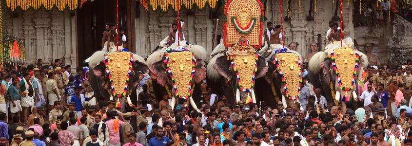 Vadakkunnathan Temple in Thrissur, Kerala